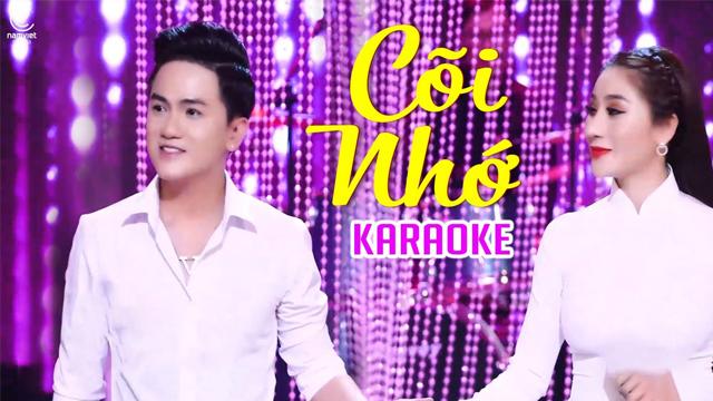 Cõi Nhớ - Thu Trang Bolero ft Khưu Huy Vũ - Karaoke