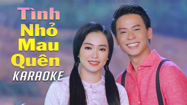 Tình Nhỏ Mau Quên - Như Ý ft Huỳnh Thật - Karaoke