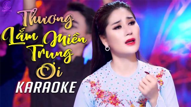 Thương Lắm Miền Trung Ơi - Thu Trang Bolero - Karaoke