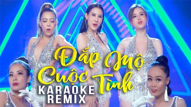 Đắp Mộ Cuộc Tình Remix - Nhật Nguyệt Band - Karaoke