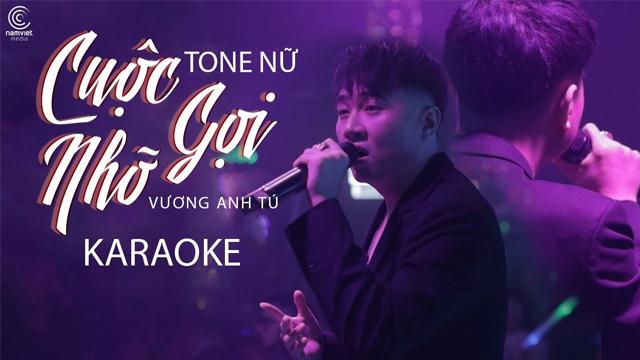 Cuộc Gọi Nhỡ (Tone Nữ) - Vương Anh Tú - Karaoke