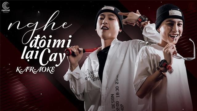 Nghe Đôi Mi Lại Cay (Cover) - Chung Thanh Duy - Karaoke