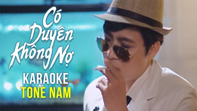 Có Duyên Không Nợ - Hoàng Minh - Karaoke