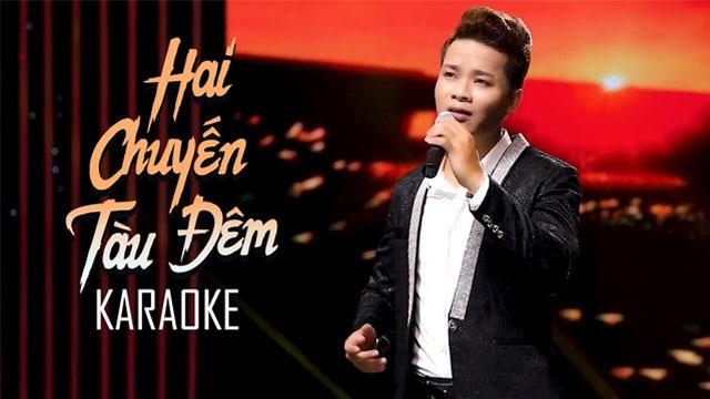 Hai Chuyến Tàu Đêm - Thanh Tùng - Karaoke