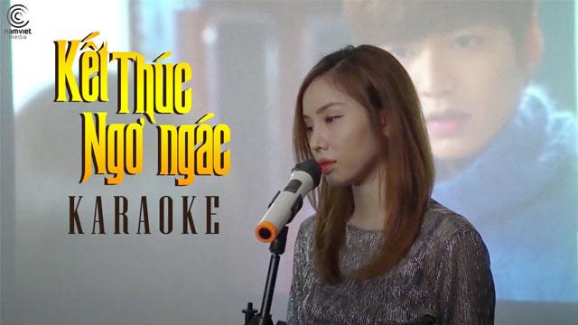 Kết Thúc Ngơ Ngác - Lynn - Karaoke