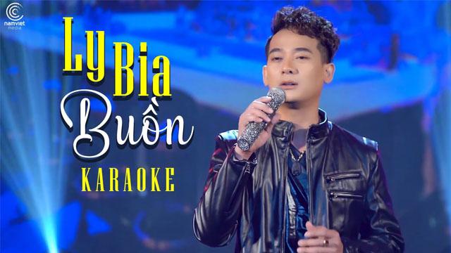 Ly Bia Buồn - Đoàn Minh - Karaoke