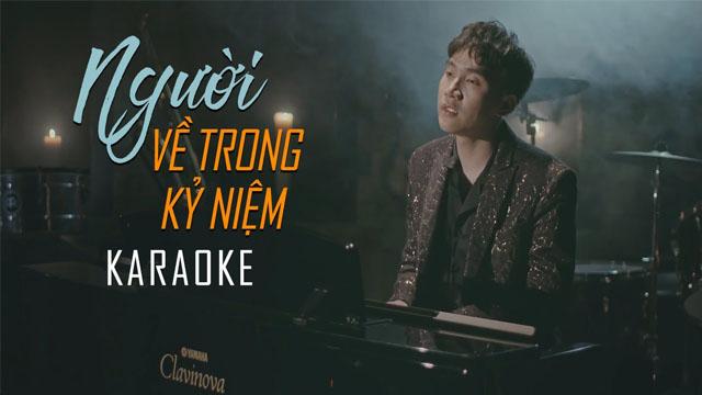 Người Về Trong Kỷ Niệm - Trịnh Đình Quang - Karaoke