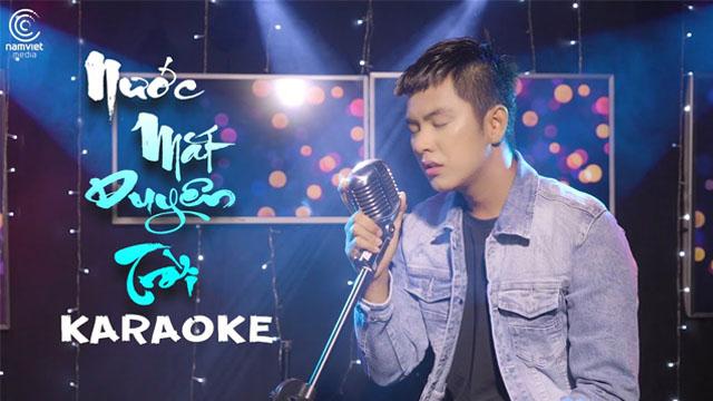 Nước Mắt Duyên Trời - Tiến Phong - Karaoke