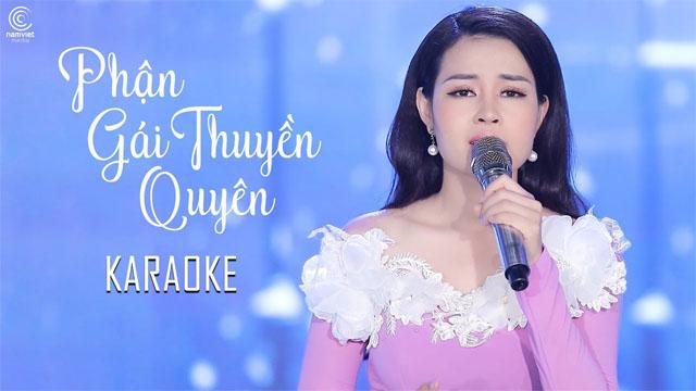 Phận Gái Thuyền Quyên - Châu Giang - Karaoke
