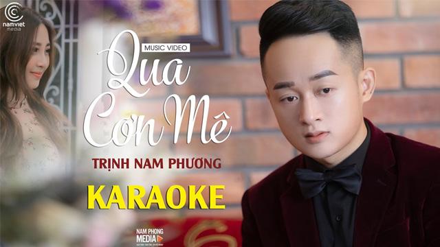 Qua Cơn Mê - Trịnh Nam Phương - Karaoke