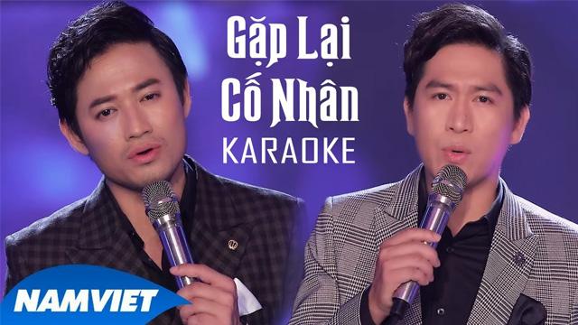 Gặp Lại Cố Nhân - Tùng Anh ft Quý Bình - Karaoke