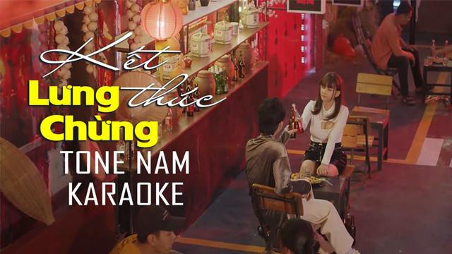 Kết Thúc Lưng Chừng (Tone Nam) - Văn Võ Ngọc Nhân - Karaoke