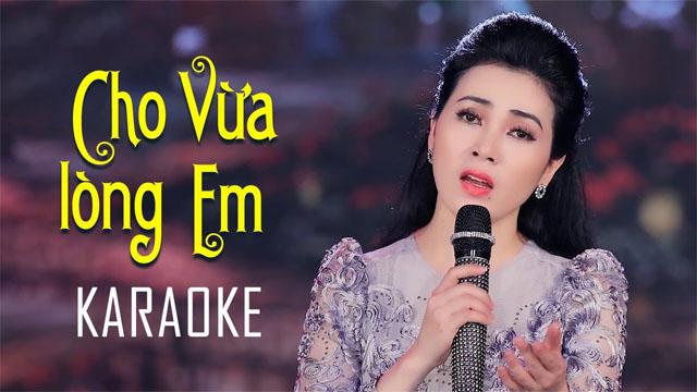 Cho Vừa Lòng Em - Diễm Thùy - Karaoke