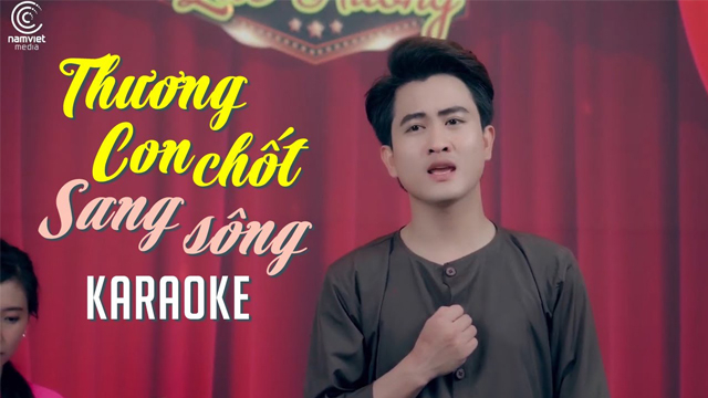 Thương Con Chốt Sang Sông - Văn Hương - Karaoke