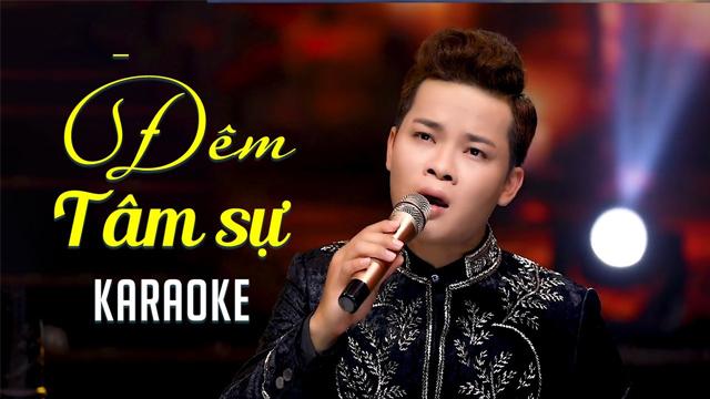 Đêm Tâm Sự - Thanh Tùng - Karaoke