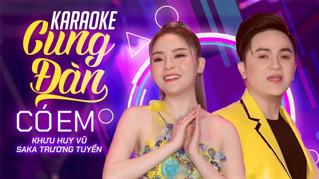 Cung Đàn Có Em Remix - Khưu Huy Vũ ft Saka Trường Tuyền - Karaoke