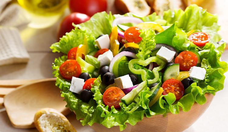 Cách làm salad trộn dầu dấm