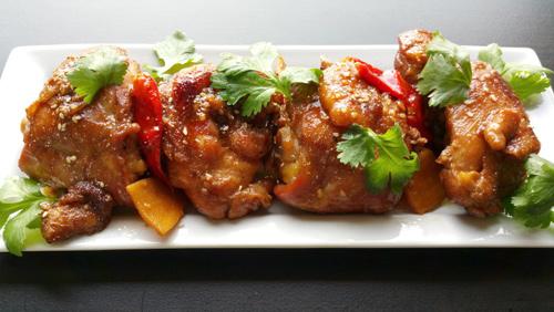 Cách làm gà om nước dừa