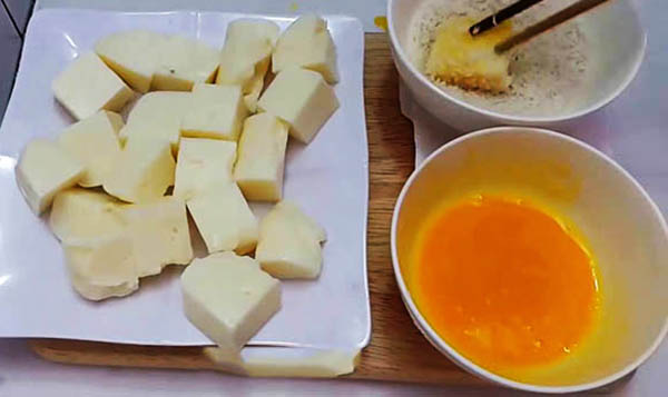 Cách làm món sữa tươi chiên béo béo, giòn giòn, tan chảy sữa