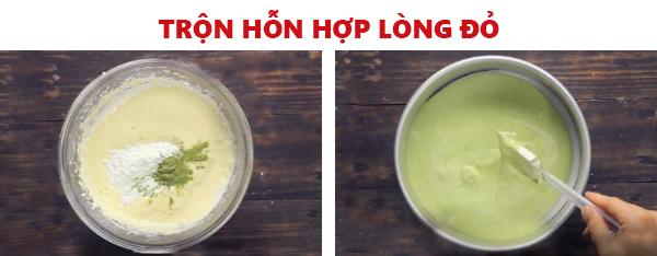 Cách làm bánh gato trà xanh xốp, béo, ngọt ngay