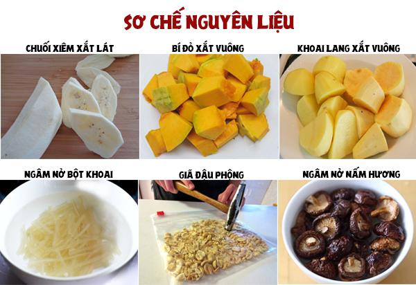 Món ngon mỗi ngày: Cách nấu canh kiểm chay sóng sánh nước cốt dừa cho ngày cuối tuần