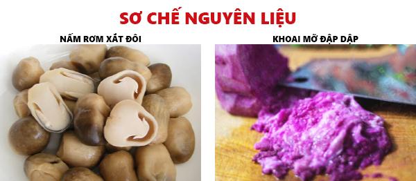 Cách nấu canh khoai mỡ chay cho ngày đầu tháng