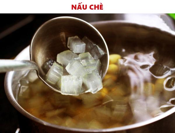 Cách làm chè hạt sen nha đam nhãn nhục tại nhà