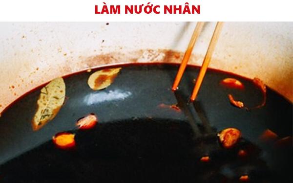Làm nước nhân cho món vịt quay Lạng Sơn