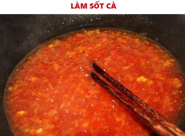 Cách làm sốt cà chua