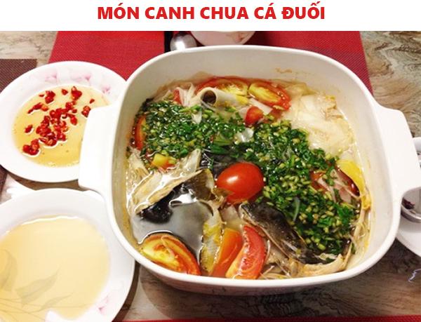 Cách nấu canh chua cá đuối không tanh