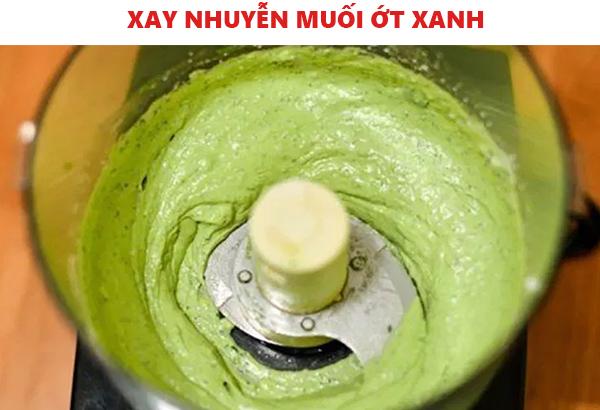 Cách làm muối ớt xanh