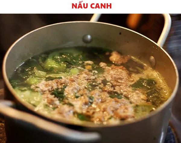 Cách nấu canh cua rau đay