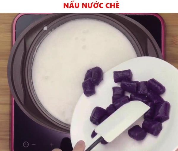 Cách nấu nước cốt dừa