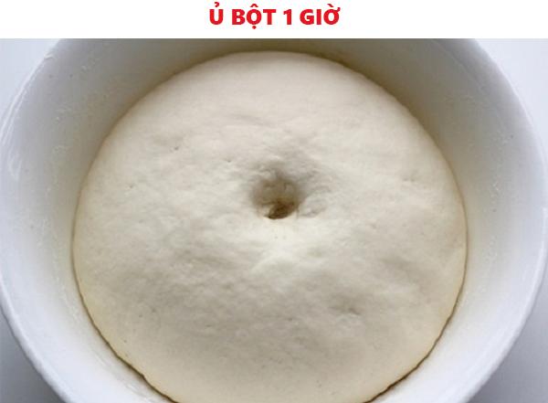 Ủ vỏ bánh 1 tiếng cho nở