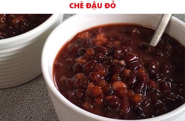 Cách nấu chè đậu đỏ vani
