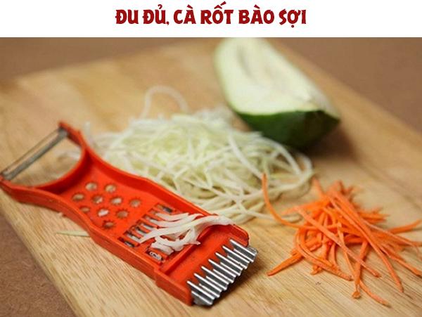 Bào sợi đu đủ, cà rốt