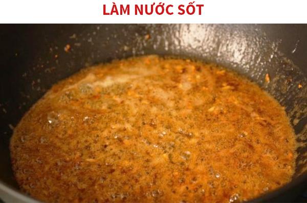 Cách làm sốt bơ tỏi