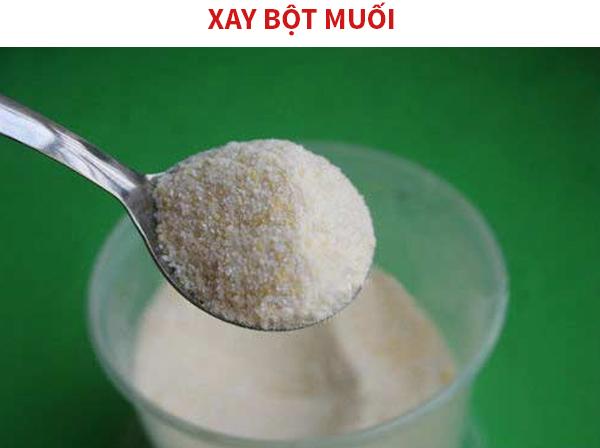 Cách làm bột muối