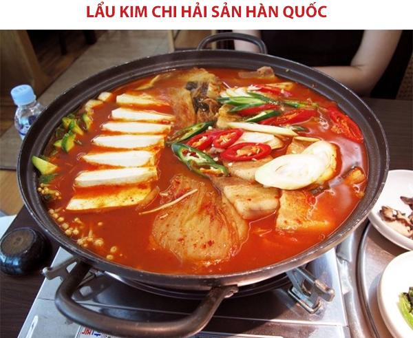 Cách nấu lẩu kim chi Hàn Quốc