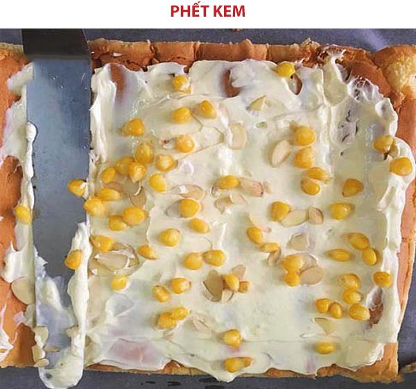 Cách trang trí bánh