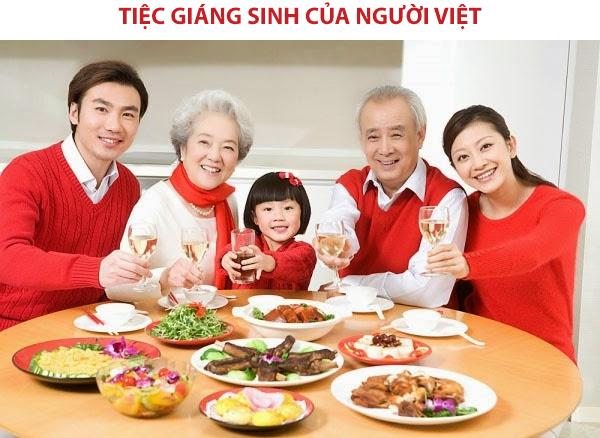 Tiệc giáng sinh của người Việt
