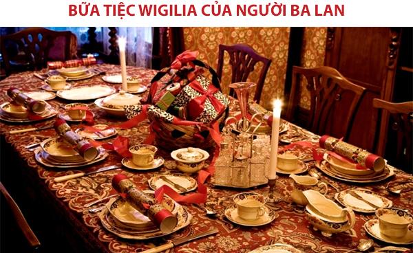 Tiệc giáng sinh của người Ba Lan