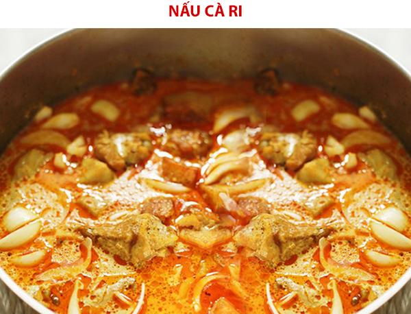 Cách nấu cà ri gà