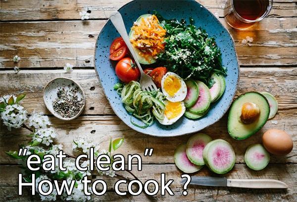 Cách nấu eat clean