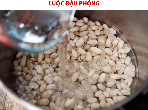 Cách luộc đậu phộng