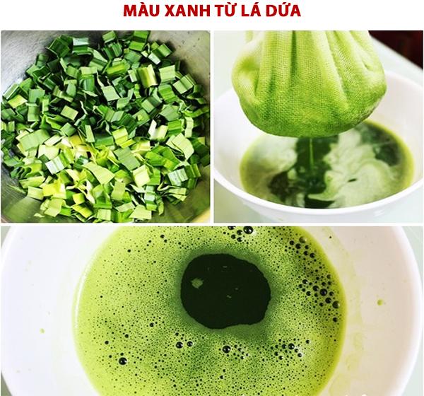 Cách pha màu thực phẩm có màu tím từ lá cẩm