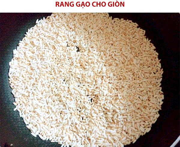 Rang gạo để nấu cháo
