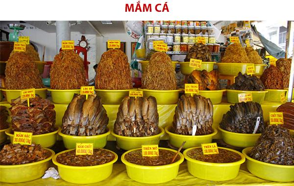 Mắm cá đặc sản Châu Đốc