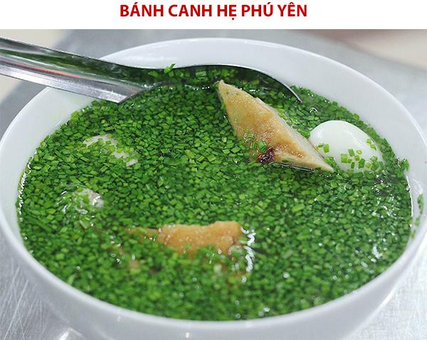 Bánh canh hẹ đặc sản Phú Yên