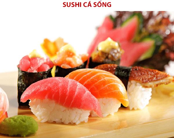 Món sushi đồ sống